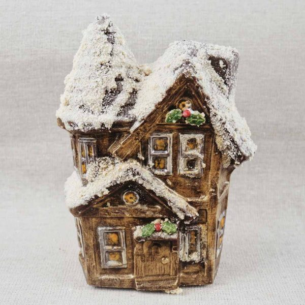 Chocolate Snowy House