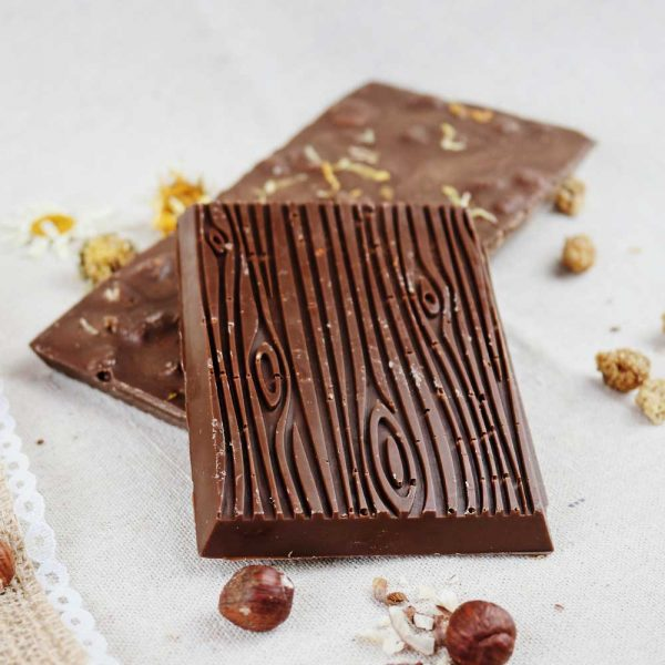 Cheeky Nilla Cheeky Nilla Mulberry, Marigold and Hazelnut Vegan Chocolate