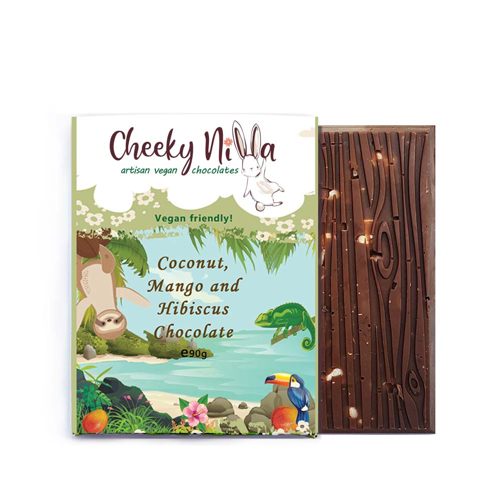Cheeky Nilla coconut vegan chocolate