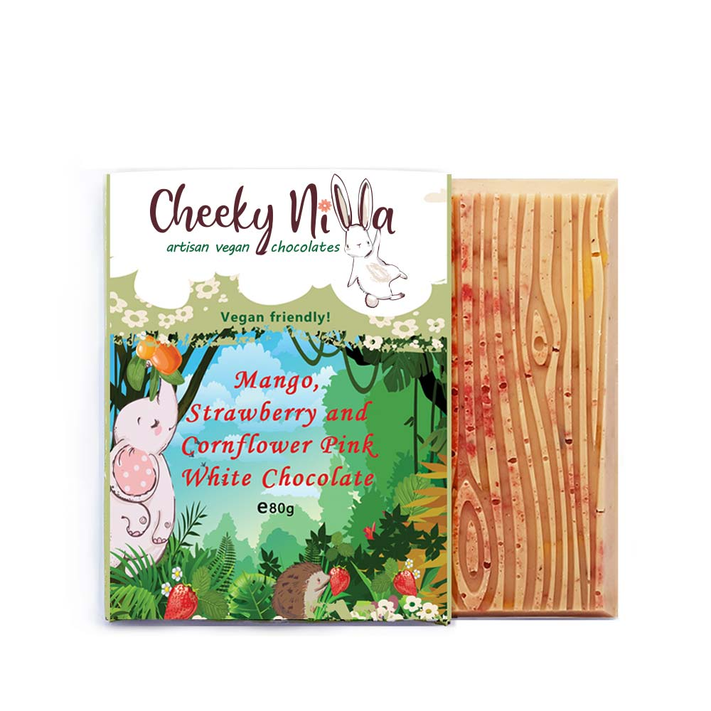 Cheeky Nilla Strawberry white chocolate