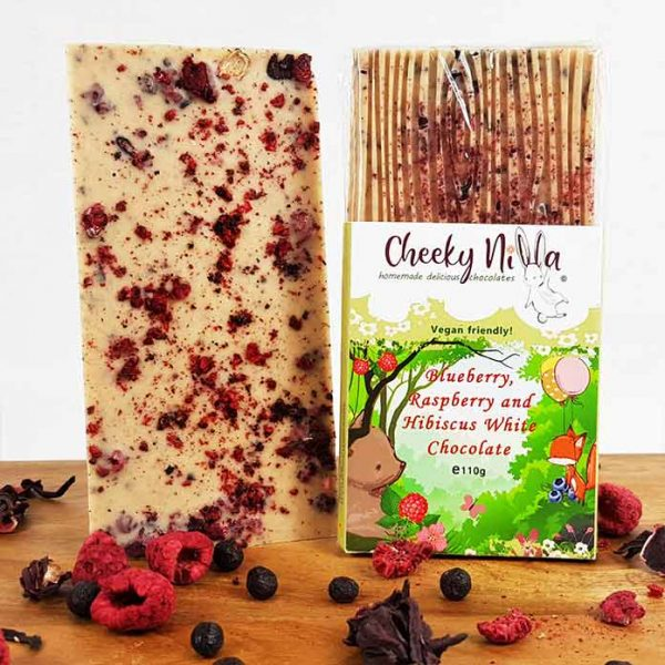 Raspberry vegan White Chocolate 3