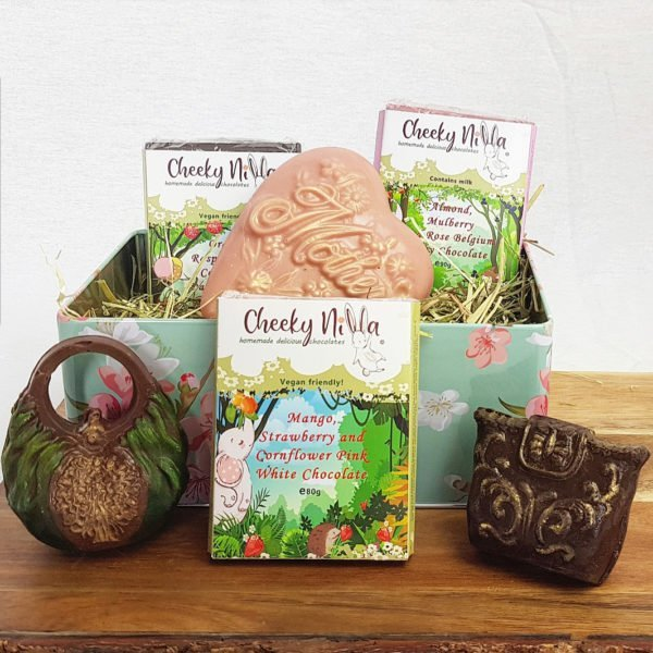 Mothers Vegan Chocolates Gift Set with Heart