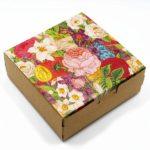 Cheeky Nilla Floral Kraft box for Mothers Day