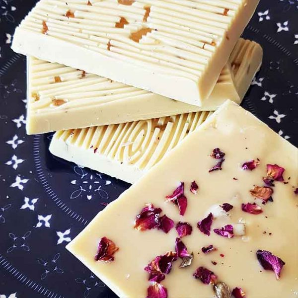 Rose vegan White chocolate