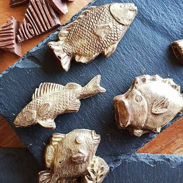 Vegan Chocolate fish