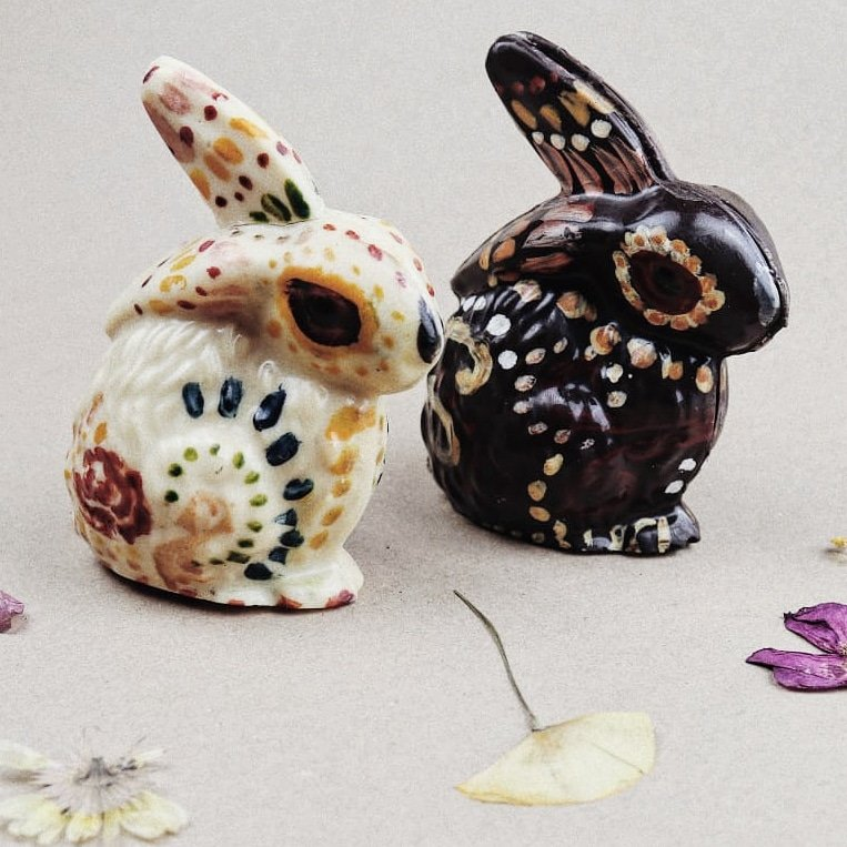 Halloween chocolate rabbits