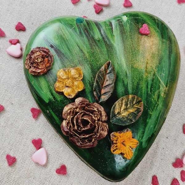 Dark Forest Chocolate Heart